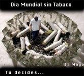 Día Mundial de lucha contra el Tabaquismo.