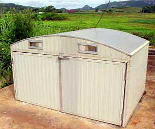 secador solar producido por el centro de investigaciones de energía solar_santiago de cuba