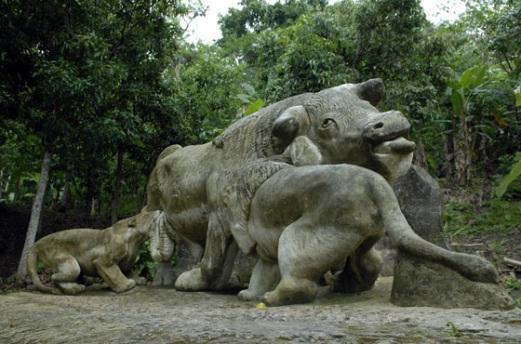 zoológico de piedra de guantánamo