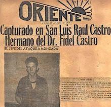 noticia publicada en la prensa cubana después del asalto al cuartel moncada