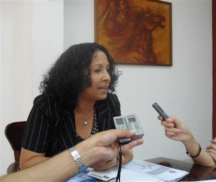Dra. Martha Mesa Valenciano, Rectora de la Universidad de Oriente de santiago de Cuba