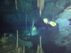 ciencia de cuba_ciencia cubana_Espeleobuceo en Cuba_cavernas inundadas en cuba_2