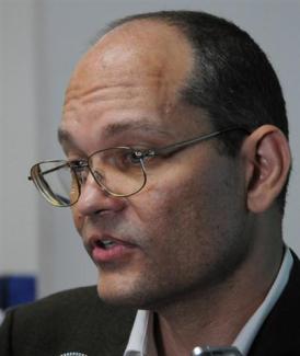 Doctor Gerardo Guillén, jefe de Investigaciones Biomédicas del CIGB. Foto: Roberto Ruiz