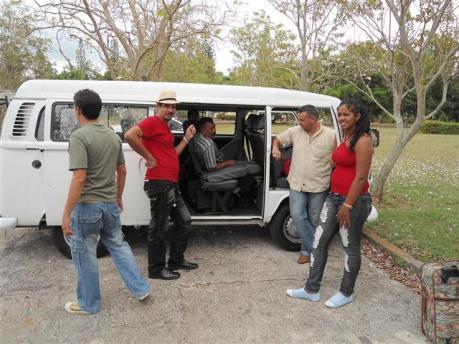 Coño que rápido, todavía tenemos sueño y ya tenemos que regresar... pa Camagüey de nuevo
