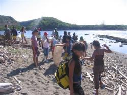 ciencia de cuba_portal de la ciencia cubana_niños y educación ambiental en cuba_limpieza de las costas de santiago de cuba (16)