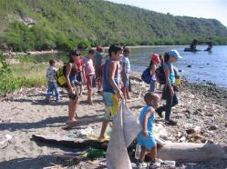ciencia de cuba_portal de la ciencia cubana_niños y educación ambiental en cuba_limpieza de las costas de santiago de cuba (21)