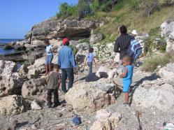 ciencia de cuba_portal de la ciencia cubana_niños y educación ambiental en cuba_limpieza de las costas de santiago de cuba (4)