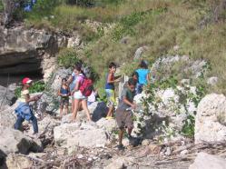 ciencia de cuba_portal de la ciencia cubana_niños y educación ambiental en cuba_limpieza de las costas de santiago de cuba (5)