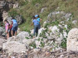 ciencia de cuba_portal de la ciencia cubana_niños y educación ambiental en cuba_limpieza de las costas de santiago de cuba (7)