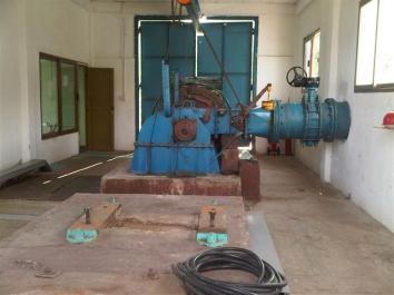 Mini hidroeléctrica ubicada en Loma de la Cruz