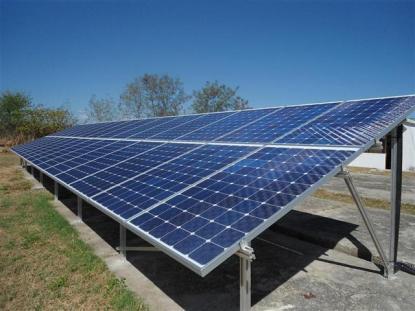 panel solar. Foto: Portal de la ciencia cubana