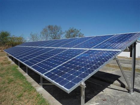 Este sistema fotovoltaico está ubicado en el Centro de Investigaciones de Energía Solar CIES de Santiago de Cuba