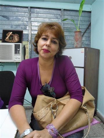 Dra. Ofelia Pérez Montero, directora del Centro de Estudios Multidisciplinarios de Zonas Costeras