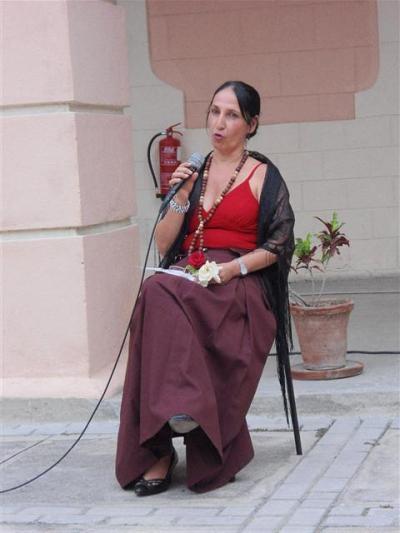 Invitada de lujo de la pena, Ana Lourdes Brito quien fuera por muchos años la directora del Centro Provincial de Meteorología de Santiago de Cuba