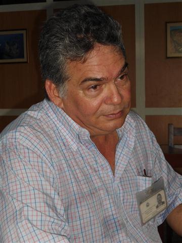 Dr. Pedro Aníbal Beatón delegado del Ministerio de Ciencia, Tecnología y Medio Ambiente en Santiago de Cuba