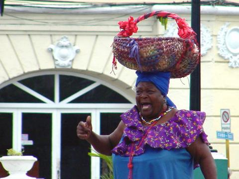 pregon santiaguero_Berta La pregonera mayor del caribe_Oficina del Conservador de la Ciudad de Santiago de Cuba