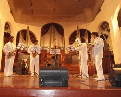 Cuarteto Mágico de Saxofones de Santiago de Cuba