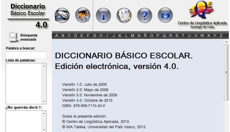 diccionario basico escolar electronico