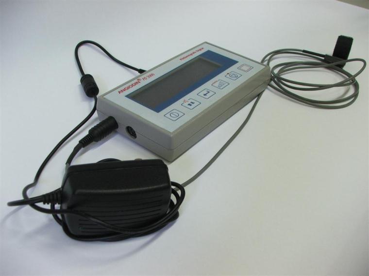El ANGIODIN PD3000 es un dispositivo desarrollado en el Centro de Biofísica Médica, y se emplea para la detección de afecciones vasculares.
