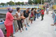 trabajo voluntario_malecon_santiago de cuba