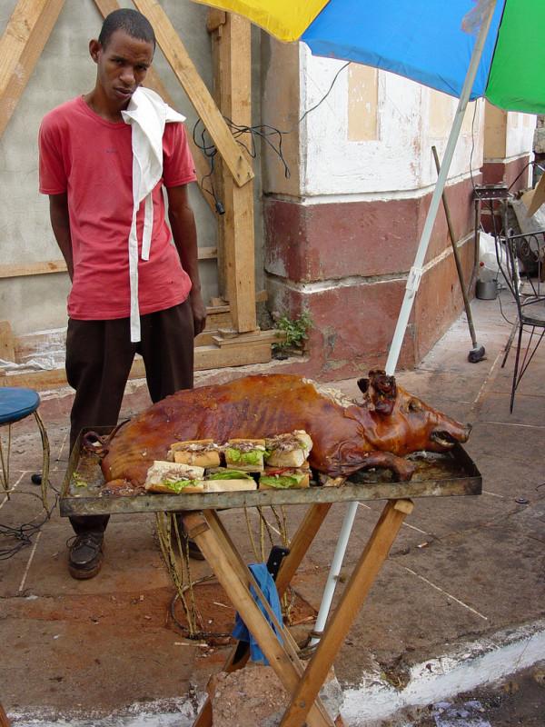 puerco asado_bocadito de cerdo_pregón_santiago de cuba
