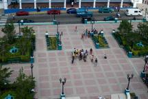 vista al parque cespedes desde el mirador catedral_foto J. Loo Vázquez
