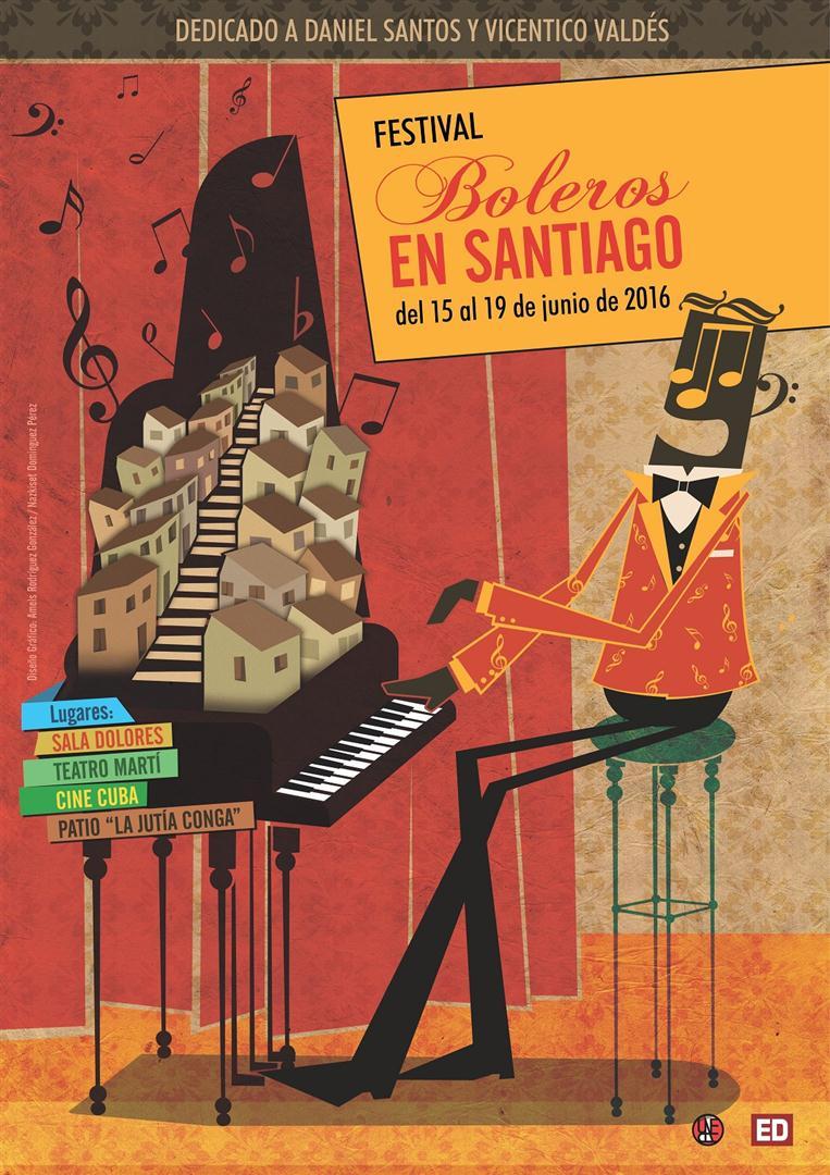 Festival Boleros en Santiago