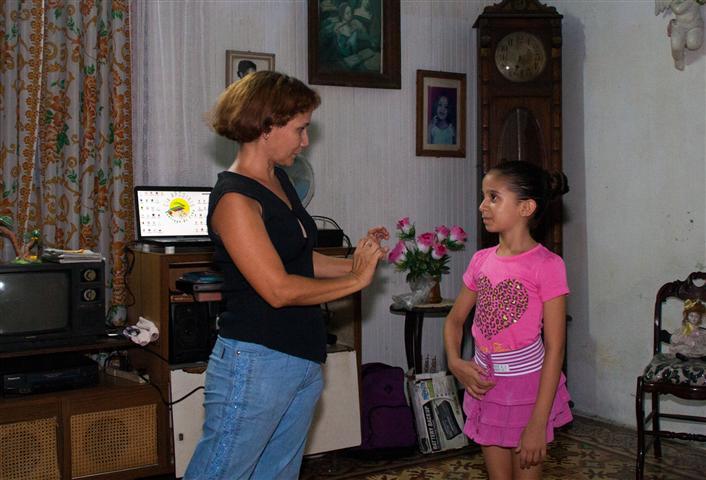Ileana Carbonell, durante los ensayos del nuevo espectáculo.