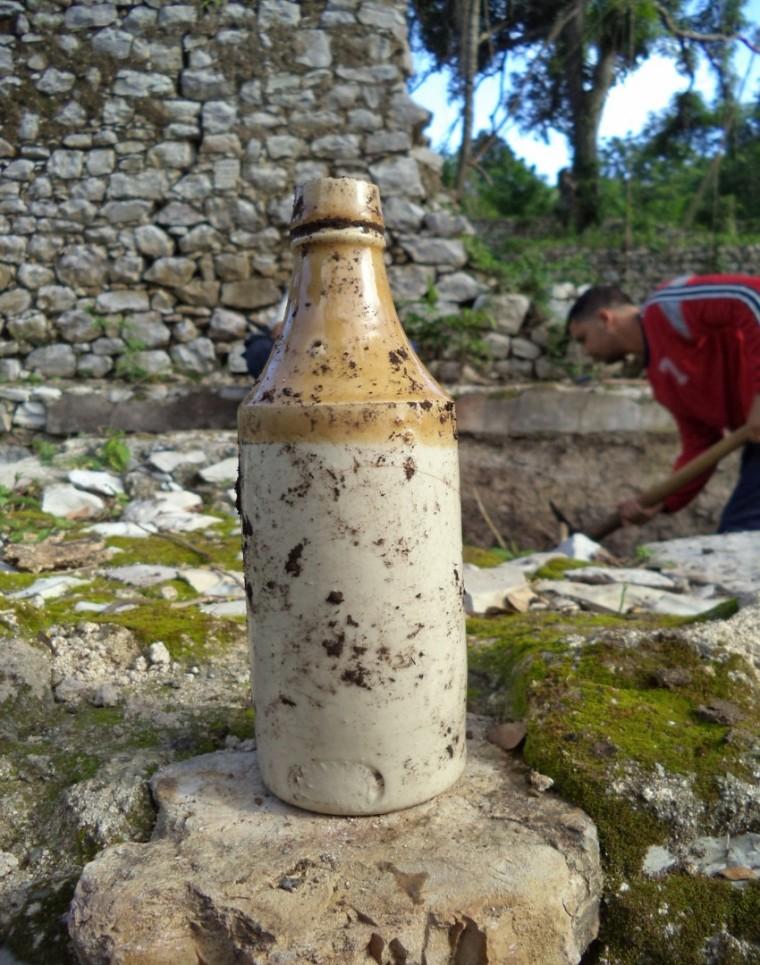 Caneca. Evidencia arqueológica.