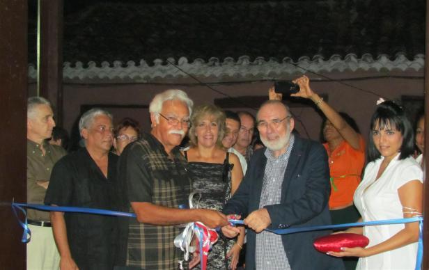 Inauguración de la Casa Dranguet. Foto Edgar Brielo Maranillo Sierra.