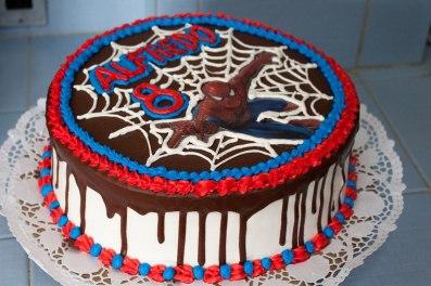 cake spider man_santiago de cuba_yenila homemade cake